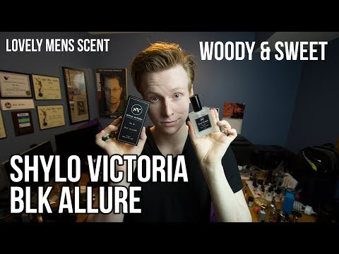 Shylo Victoria Fragrances:  BLK ALLURE REVIEW [MASULINE WOODY SCENT]