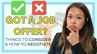 What To Look For in a Job Offer (especially as a Physical Therapist) / How To Negotiate a Salary