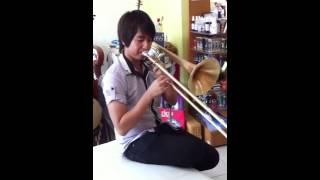 Nath Playing Carol Trombone With Tilz D3EXTRA Zab Zab