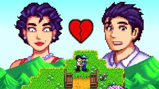 Stardew Valley Expanded Mod - Dating a mother and son