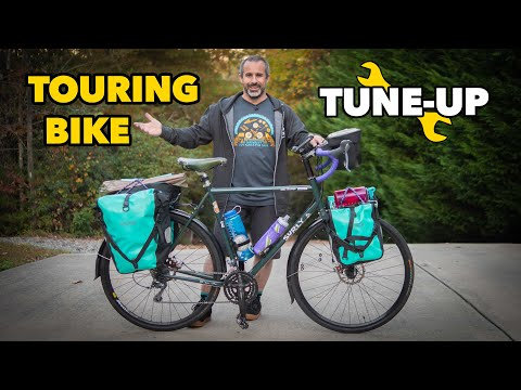 Janked up touring bike gets a Berm Peak tuneup! music video cover