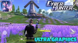CYBER HUNTER - ANDROID GAMEPLAY (ULTRA GRAPHICS)