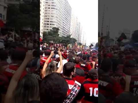 Flamengo Campeão da Libertadores Av Presidente Vargas(3)