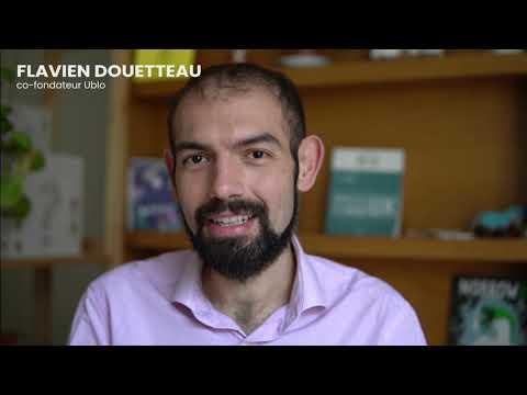 Video Flavien Douetteau - Cofounder & CEO chez Ublo