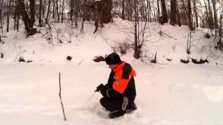 Зимняя ловля голавля на малых реках