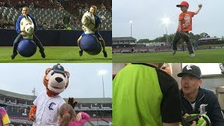 A night of baseball and family fun at Dodd Stadium