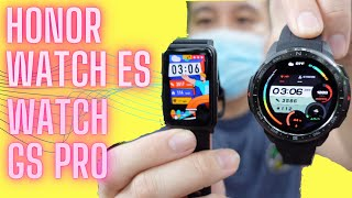 Honor Watch ES, Honor Watch GS Pro First Look: 25-Day Battery!