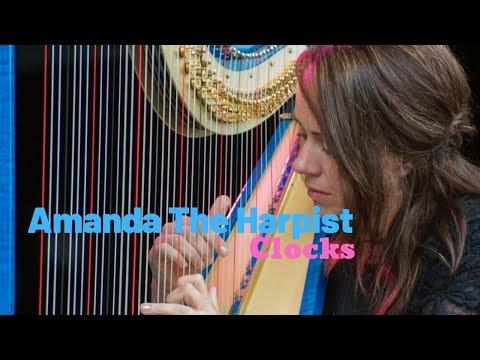 Amanda The Harpist Video