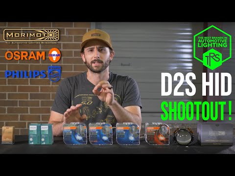 The Highest Performing D2S HID Bulb | XB, Osram, and Philips Shootout!