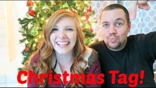 CHRISTMAS TAG W/ HUBBY! | VLOGMAS DAY 13