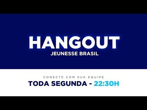 20/08 às 22h30min - Hangout Jeunesse