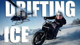 Extreme Motorcycle Drifting On Ice - Jorian Ponomareff