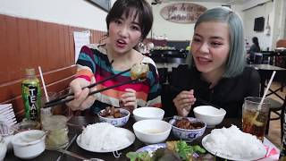 Hari Won ft Tia Hải Châu - Siêu Ham Ăn - Bún Chả ngon nhất Sài Gòn
