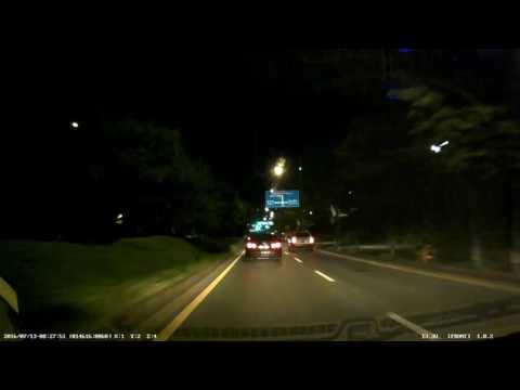 ViewCore F100 야간 주행 영상 - 전방