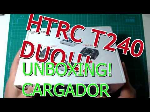 Unboxing y Review en Español HTRC T240 DUO