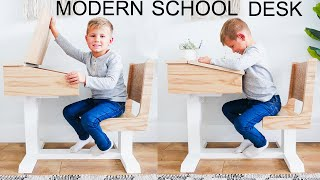 DIY Kids School Desk