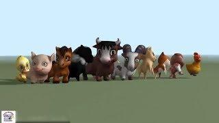 Các con vật nhảy múa cùng bé qua bài hát tiếng anh các con vật cho bé | | Dạy bé học con vật