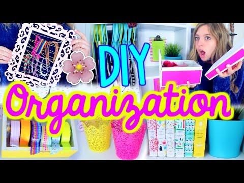 DIY Room Organization for Spring!! | Spring Cleaning + Room Decor!!