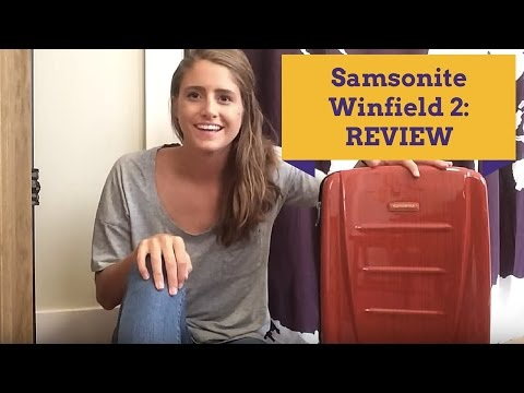 Samsonite Winfield 2 Fashion 20″ Spinner Review