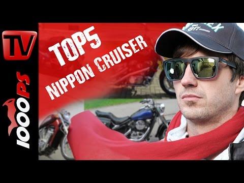 Top 5 - Nippon Cruiser unter 4000 Euro - Günstiges Chrom aus Japan