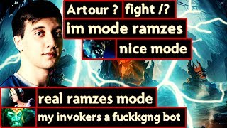 Evil Geniuses Arteezy Trash Talk - Lycan & Wraith King Gameplay - Dota 2 7.19