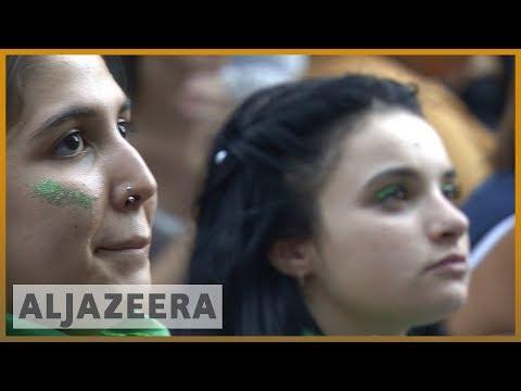 ♀️🇦🇷 Argentina's Congress begins historic debate on legalising abortion | Al Jazeera English