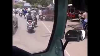 preview picture of video 'Tuk Tuk Ride Phnom Penh Obek Korm to BKK'