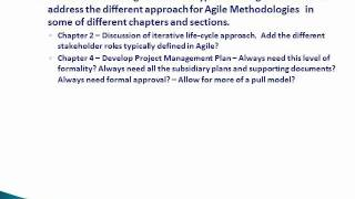 Agile Project Mgmt (APM) vs PMBOK Guide - Part 7 - Summary: They DefineTwo Different Approaches