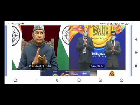 Digital india Awards-2020
