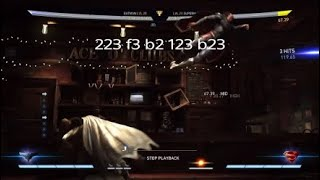 Injustice 2 Batman Meterless and Traitless Combos