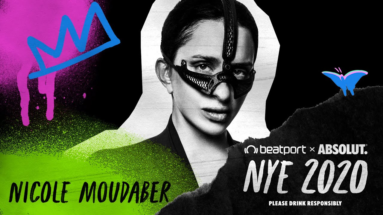 Nicole Moudaber - Live @ Beatport x Absolut NYE 2020 Global Celebration