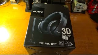 Sony MDR-DS6500 7.1 Dolby Digital Headphones Unboxing