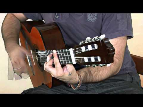 Yamaha C40 Konzertgitarre Demo