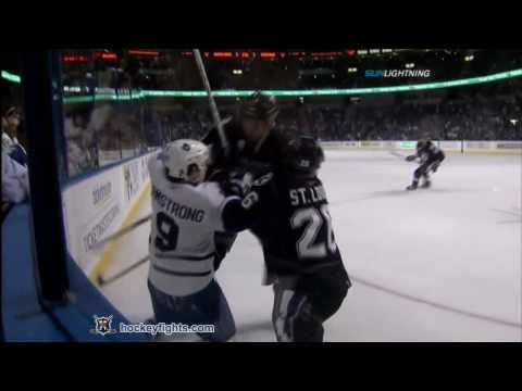 Steve Downie vs. Colby Armstrong