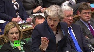 Британский парламент поддержал решение Мэй о досрочных выборах