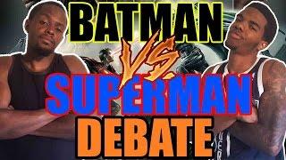 BATMAN VS SUPERMAN DEBATE ANSWERED! - Injustice God's Among Us Gameplay