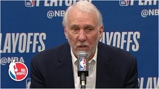 Spurs Couldn't Hear Me So We Didn't Foul – Gregg Popovich After Game 7 | 2019 NBA Playoffs