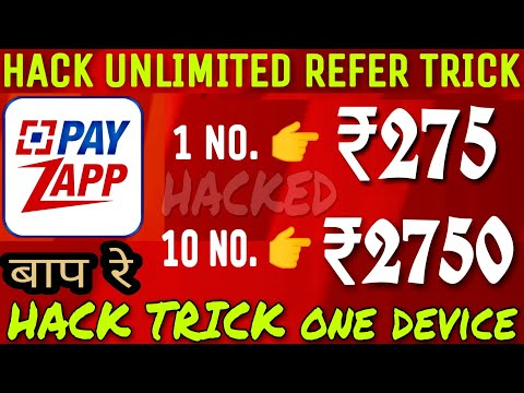 Download Payzapp Unlimited Refer Trick One Device 275 Per