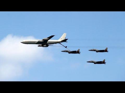 מטס חיל האוויר ביום העצמאות 2015