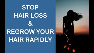 Stop Hair Loss & Regrow Your Hair Rapidly (Subliminal)