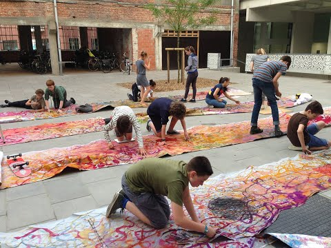 Een kijkje in de ateliers van de stedelijke academie voor schone kunsten Turnhout