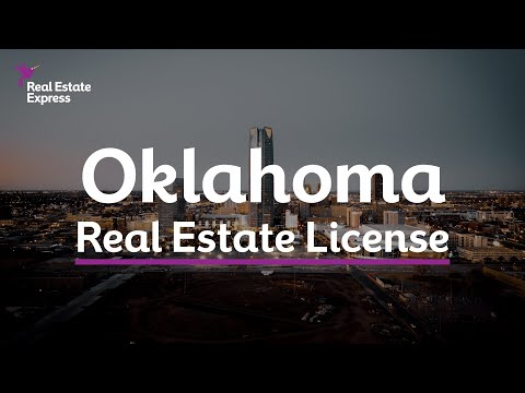 How to Get an Oklahoma Real Estate License - YouTube