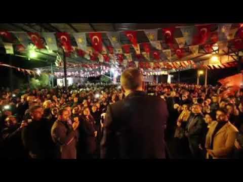 CHP'li Muhittin Böcek'in seçim öncesi son  mitingi