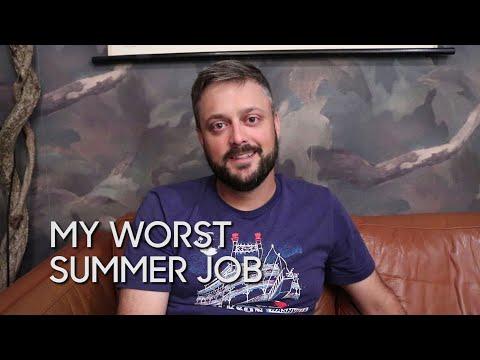 My Worst Summer Job: Nate Bargatze
