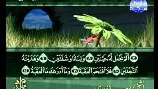 المصحف المرتل 30 للشيخ سعد الغامدي  حفظه الله