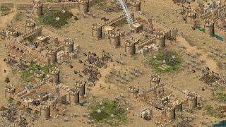 Stronghold Crusader - 7x Saladins vs SergiuHellDragoonHQ