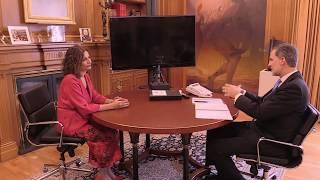 Reunión Su Majestad el Rey con la ministra de Hacienda