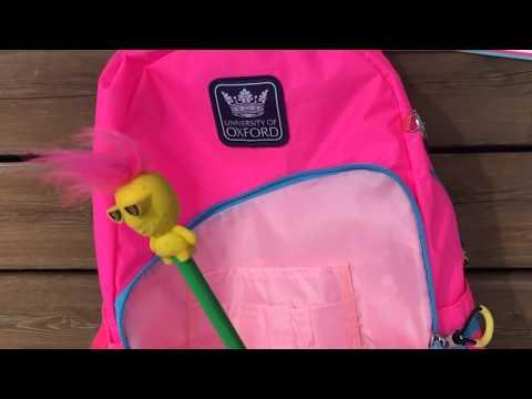 """Рюкзак для підлітків YES  Х229 """"Oxford"""", рожевий, 30.5*16.5*47см"""