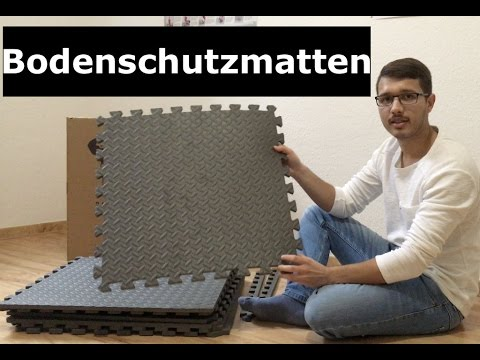 Profihantel.de Puzzle Bodenschutzmatten unboxing & Review Video