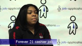 Forever 21 Interview - Cashier